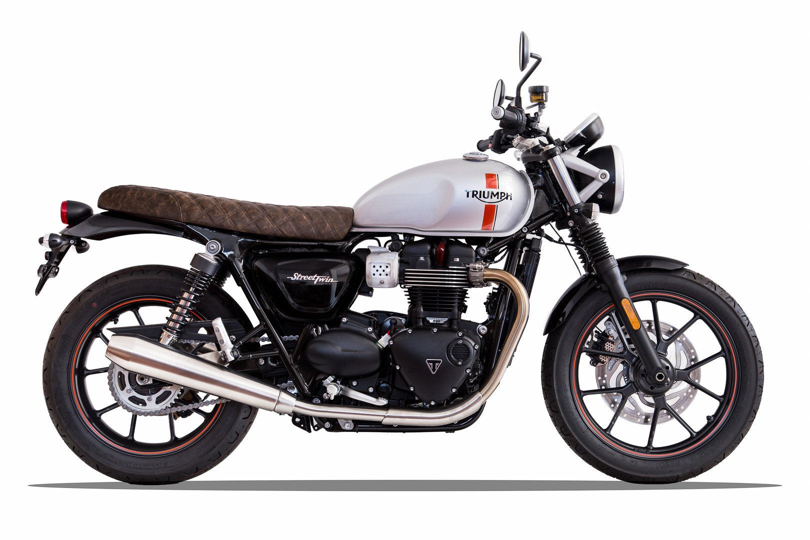 Bonneville T100 Lc 2016 Now Vickers Motorcycle Company