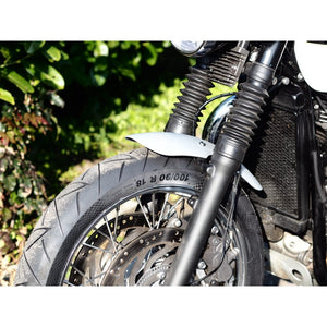 Shorty - Front Mudguard/Fender - Brushed Aluminium - LC Triumph