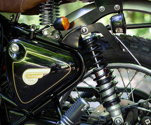 BAAK - Side license plate holder kit for Royal Enfield Classic / Bullet