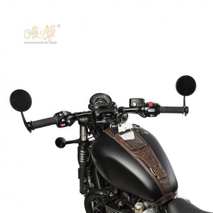 Triumph Bobber Tank strap with IPhone / Smartphone case.