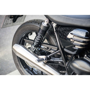 Tanto Chain Guard in Black or Chrome
