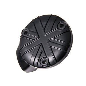 TPS Carb/Throttle Body Cover - Union Jack design - Black