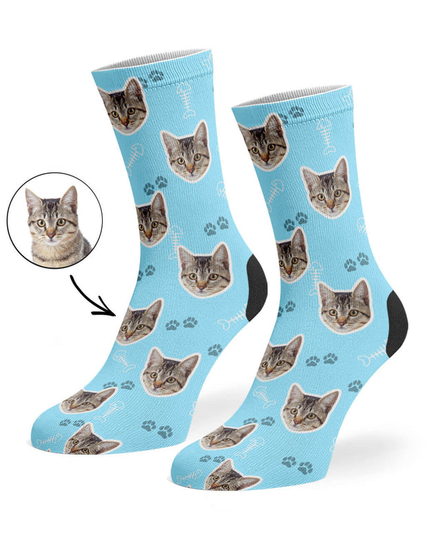 Your Cat On Socks