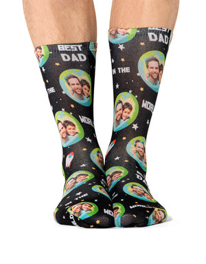 Best Dad In The World Socks