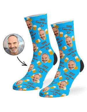 Beer-illiant Dad Socks