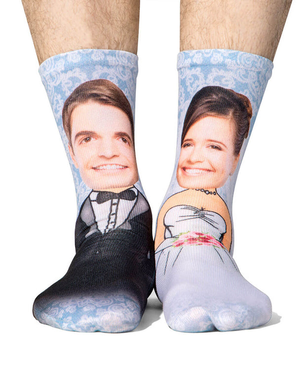 Bride & Groom Me Socks