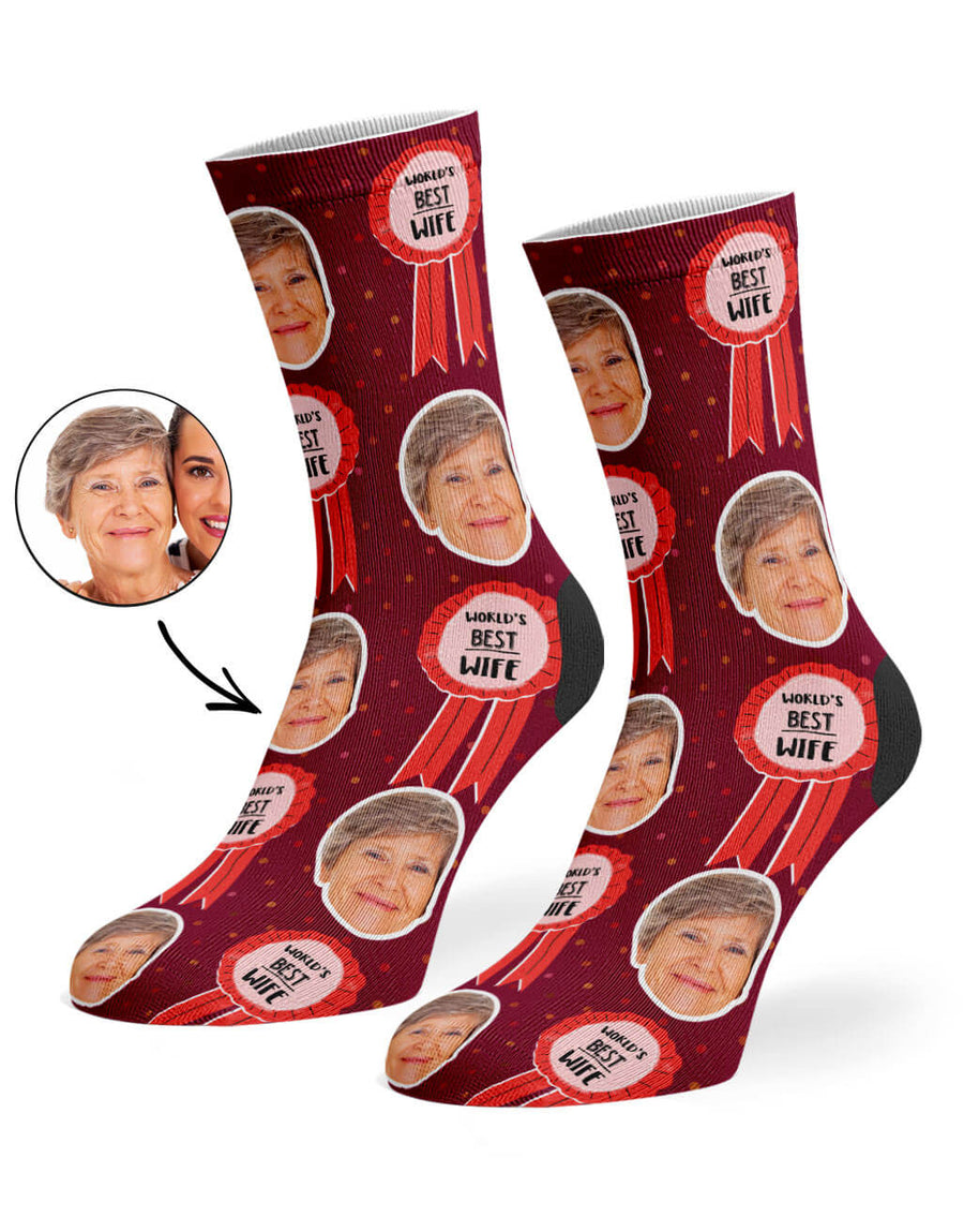 World's Best Wife Socks