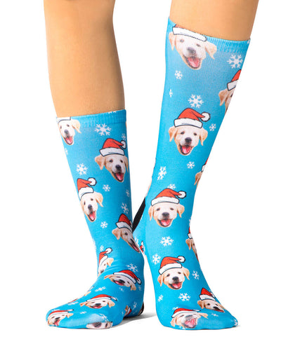 Santa My Dog Socks