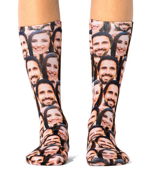 Couples Face Mash Socks