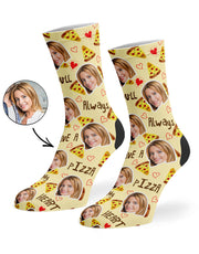 Pizza My Heart Socks