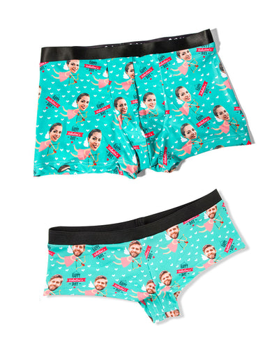 Cupid Me BoxersKnickers Matching set