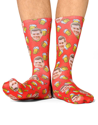 Beer Face Socks