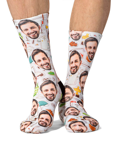 Golf Pattern Socks