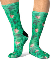 Happy St. Patricks Day Socks