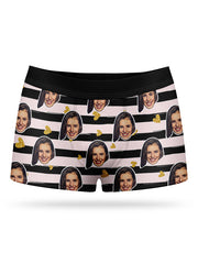 Face Stripes Boxers