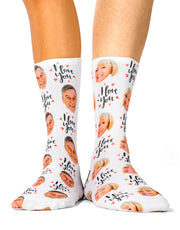 I Love You Socks Set