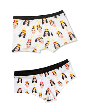 King & Queen Underwear Set