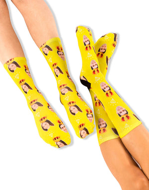King & Queen Sock Set