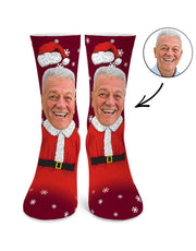 Mr Clause Socks
