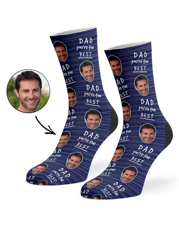 Dad You're The Best Socks