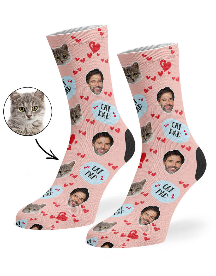 Cat Dad Socks