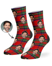 Scottish Tartan Socks