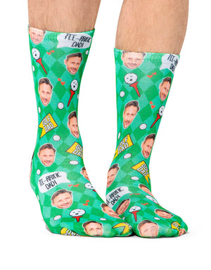 Tee-riffic Dad Golf Socks
