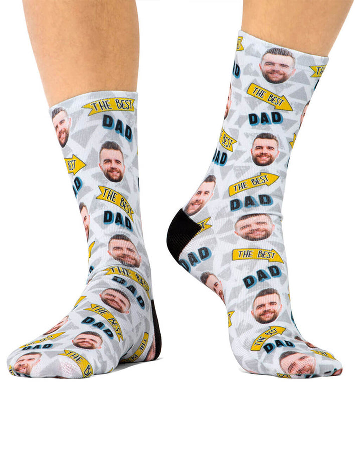 The Best Dad Socks