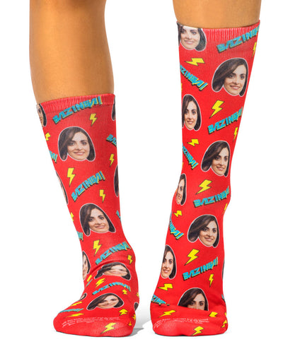 Bazinga Lightning Socks