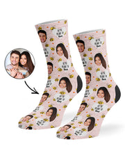 We're Meant To Bee Socks