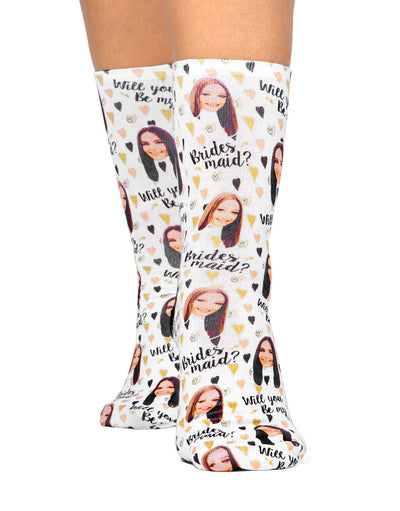 Will You Be My Bridesmaid? Socks