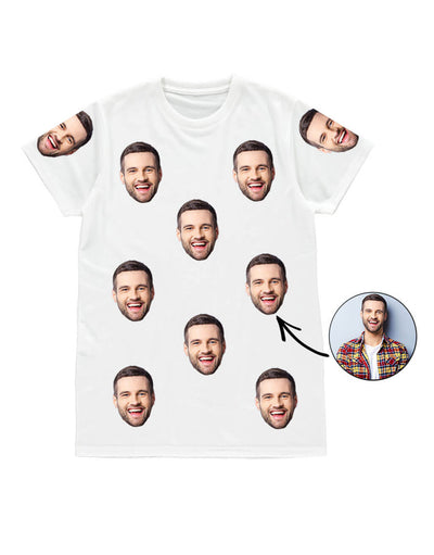 Your Face Mens T-Shirt