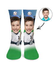 Baseball Player Socks