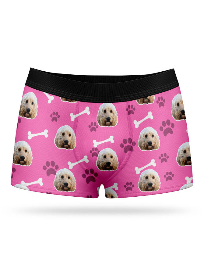 Your Dog On Boxers Personalised Dog Boxer Shorts Super Socks