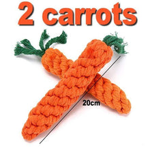 2 Carrots / As Picture / China 7 Pack Interactive Toothbrush Dog Toys for Large Small Dogs
