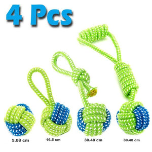 4 pcs / As Picture / China 7 Pack Interactive Toothbrush Dog Toys for Large Small Dogs