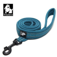 blue / L 2.5cmX200cm / Russian Federation Reflective Soft Nylon Mesh Dog Leash/Harness and Collar for Dog Training and Walking