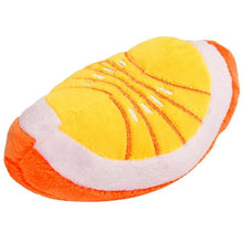 dog toy Orange / M Plush Bite-Resistant Squeaky Dog Chew Toys for Puppy Training