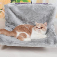 Gray / L 46x30x25 cm Removable Cat Bedfor Window Sill