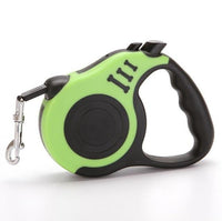 Green / 3M Retractable Dog Leash