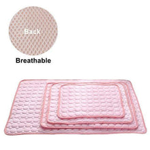 mesh cloth pink / L 70x55 cm Cooling Breathable Washable Summer Dog Bed For Small Medium Large Dogs