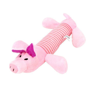 Pink Pig / M Chew Dog Toy with Squeak