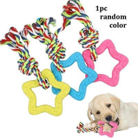 Random Color 2 / M Dog Chew Toy (Pet Toothbrush or Brushing Stick for Dog Dental Care)