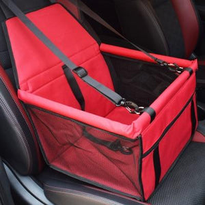 Red / 40x30x25cm / China Travel Dog Car Seat Cover or Folding Hammock for small dog