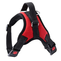 RED / L Nylon Dog Harness