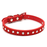 Red / XS PipiFren Cats Collars Kitten Necklace Accessories Products For Pet Small Dogs Collar Puppy collier pour chat animaux