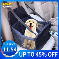 Travel Dog Car Seat Cover or Folding Hammock for small dog
