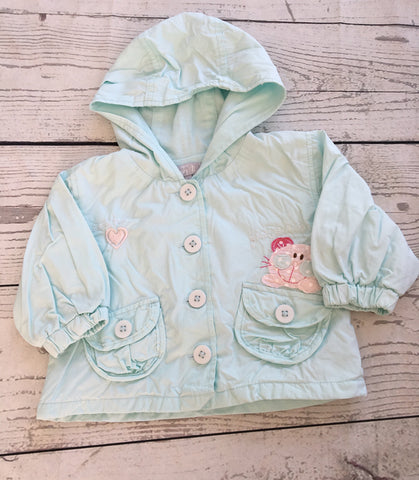 Baby Toddler Boys Thin Hooded Long Sleeve Top By Minoti 6-12 Months