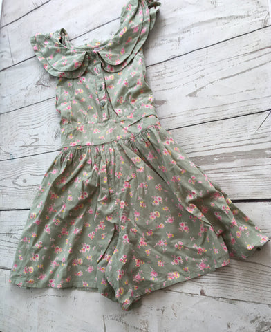 MINOTI TROPICAL PLAYSUIT AGES 3-4 TO 7-8