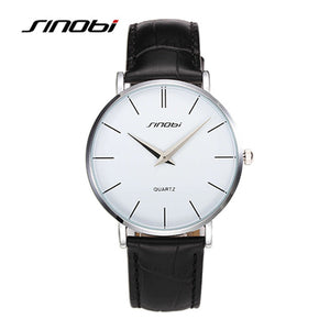 Sinobi Ultra Slim Sport Leather Woman Wrist Best Quartz Watch Women's 2016 Brand Luxury Ladies girls Wristwatch relogio feminino - www.rentpadofw.com